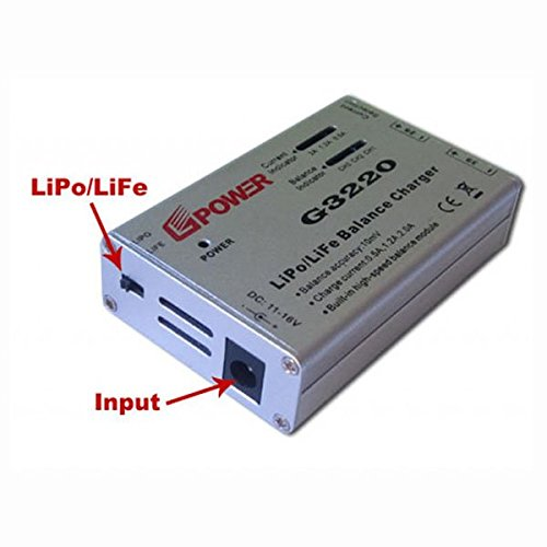 RC Balance Battery Charger G3220