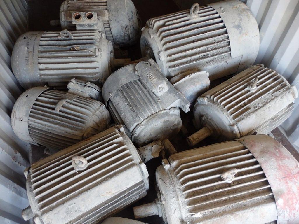 Electric motor scrap,scrap electric motors,motor scrap,scrap motors,small motors