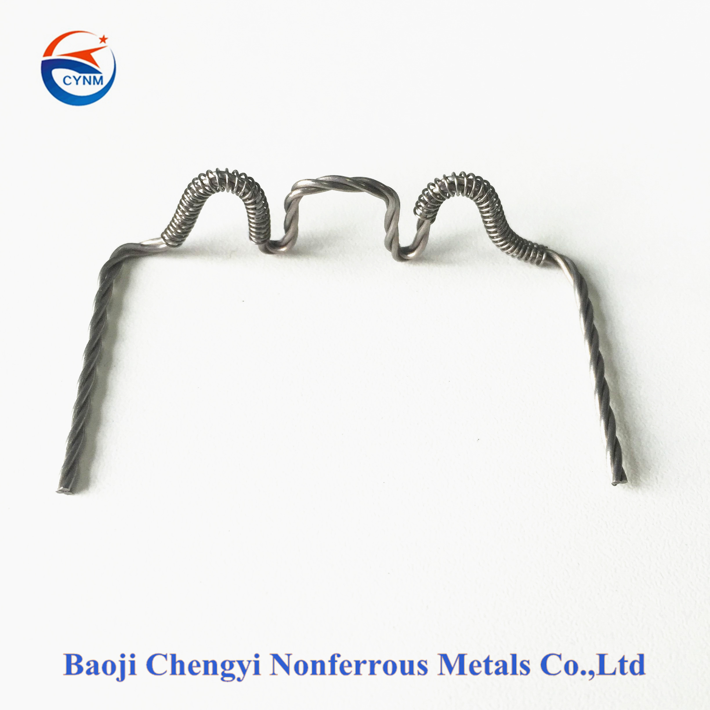 Stranded tungsten wire with high corrosion resistance