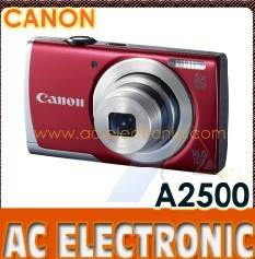 Canon-A2500-Red
