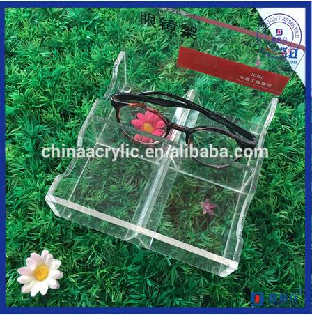 High Clear Acrylic Eyeglasses Display Case