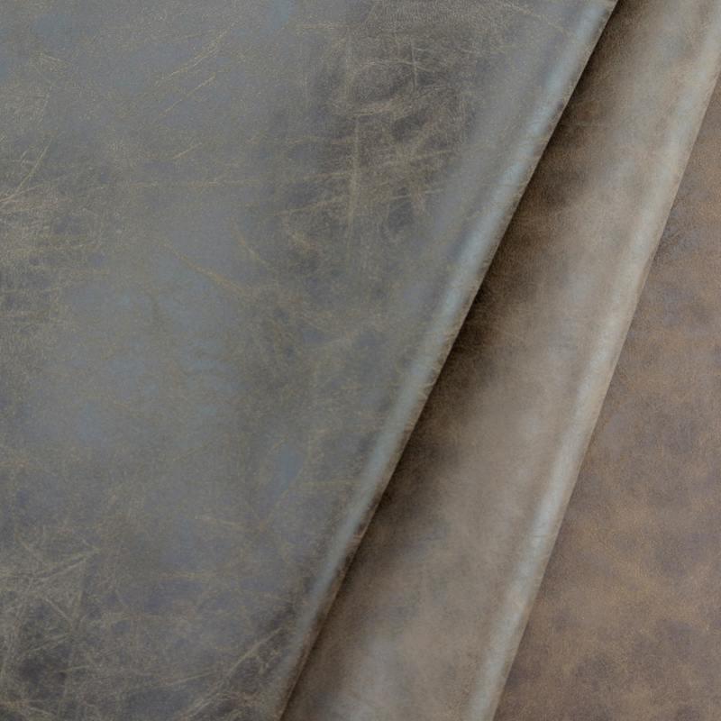 1.1MM PVC Yangbuck Leather for Shoe