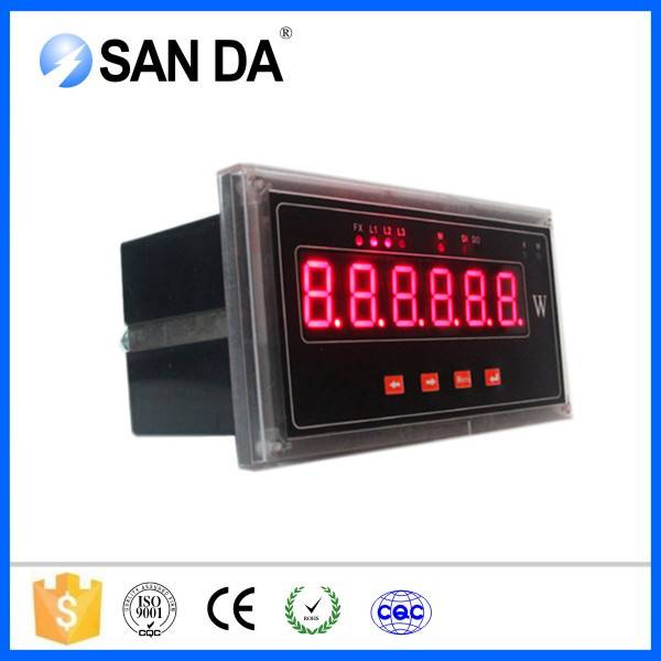 Single Phase Phase and Digital Only Display Type 35mm Modbus Power Meter