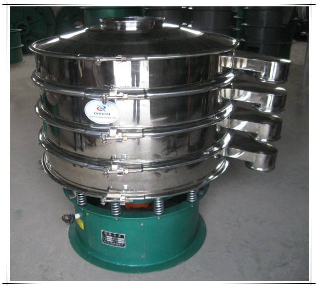 Multi-decks circular rotary vibrating sieve sifter machine for gravel sand
