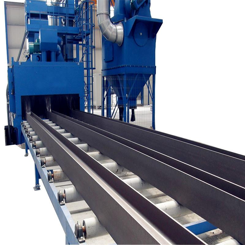 Metal Structure Dust Roller Conveyor Shot Blasting Machine / Shot Blaster Price for Sale