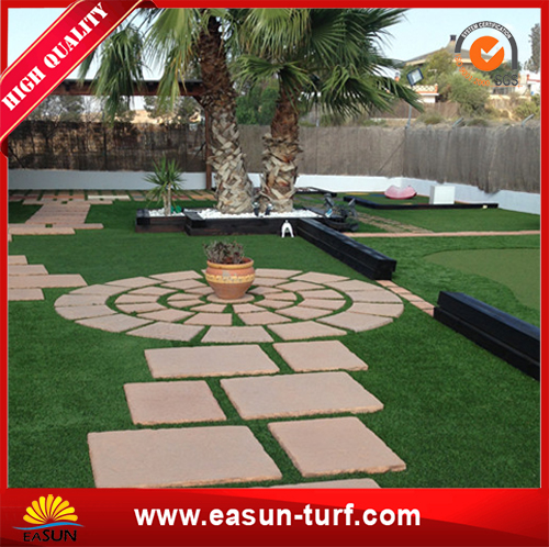 Natural like artificial turf grass for garden decoration-AL