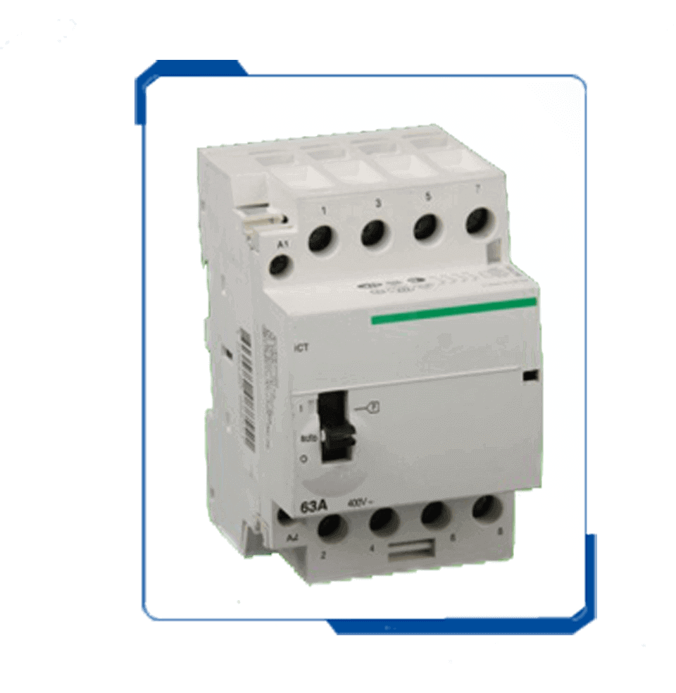 ICT 25A 3 Pole low voltage Household modular Contactor supplier
