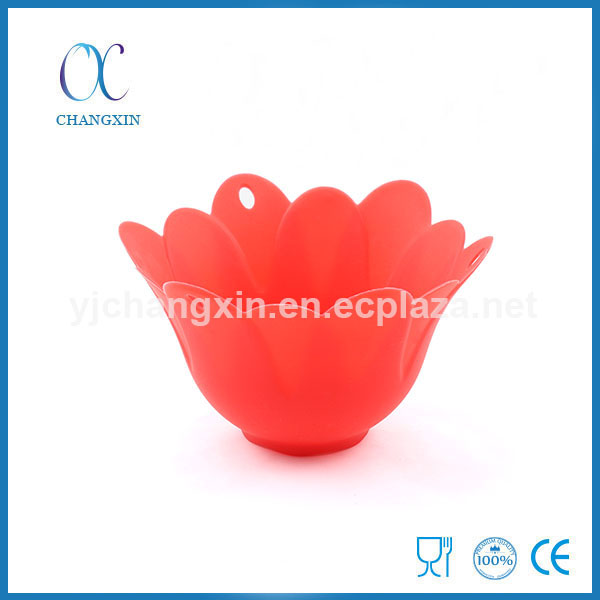 Newfangled Heat Resistant Boiled Egg Apparatus Silicone Egg Bolier