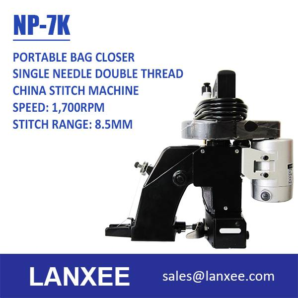 Lanxee NP-7K New Long Portable Bag Closer