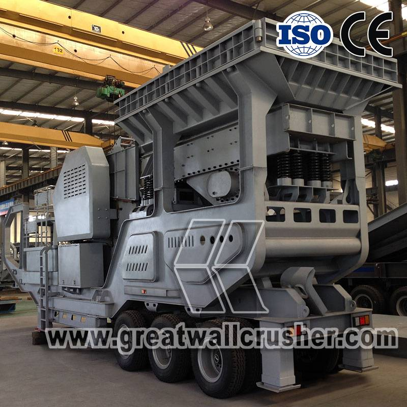 Advantages of Mobile crushing plant for sale