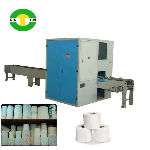 XY-AI-280 Full automatic toilet paper log saw cutting machine
