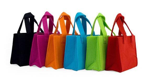 Felt Shopping Bags Promotion Bags/Panno in Feltro/Sacchetto/Sac De Courses/Felt Bolsa De La Compra/F