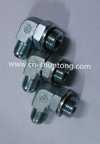 hydraulic fitting/ hydraulic adaptor/Elbow 90° Jic Male * Bsp Male O-Ring