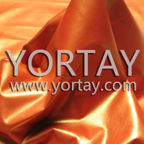 Fashion Re-Colored Orange Pearlized Leather Pigment