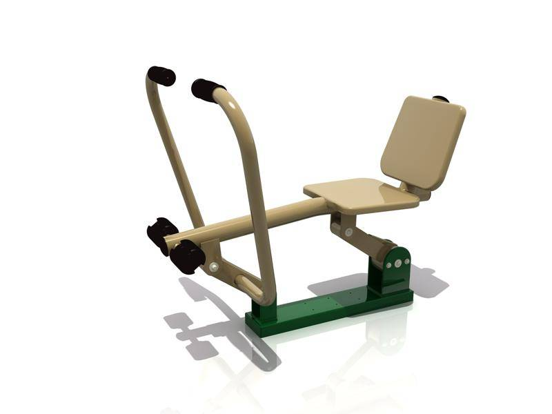 Newly Design Children Outdoor Fitness Equipment Handle Boat WD-B008