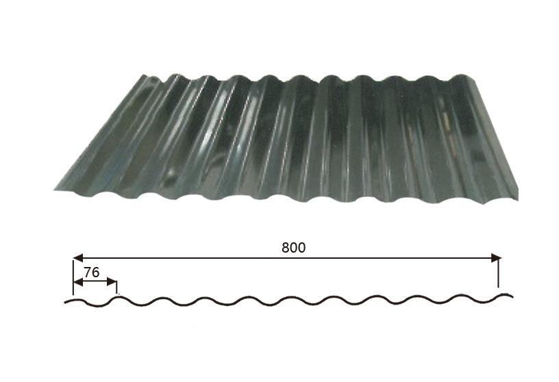 Steel Wave Tiles 18-76-800