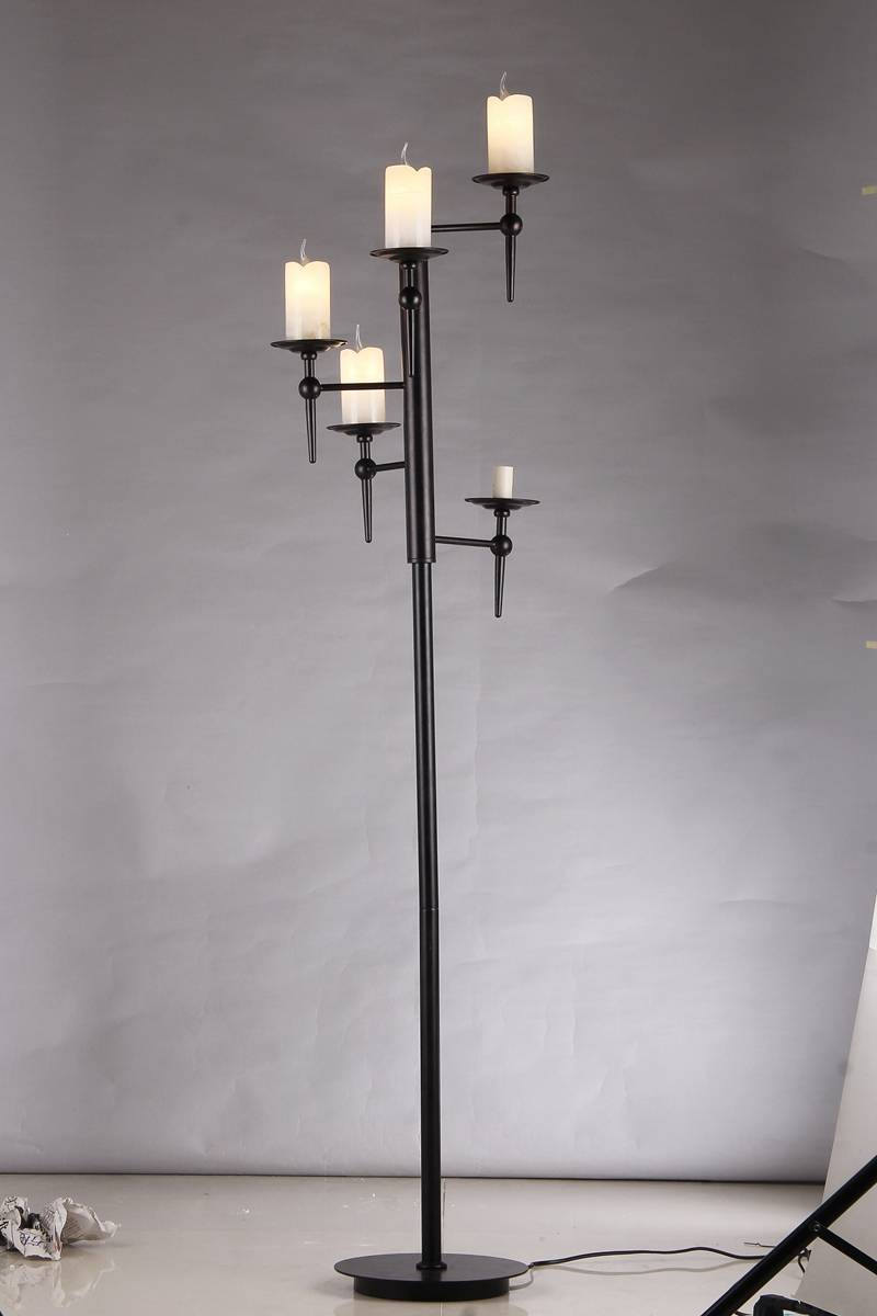 candle light floor lamp 18125