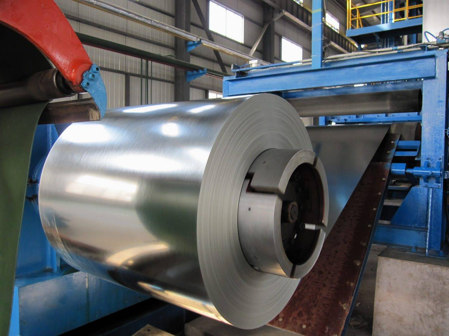 Hot dipped galvanized slit steel coil