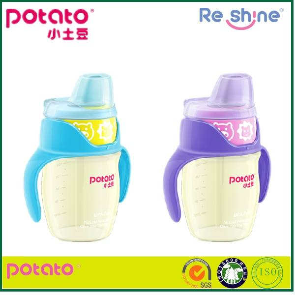 Medical grade PPSU creative plastic baby cup,baby training cup