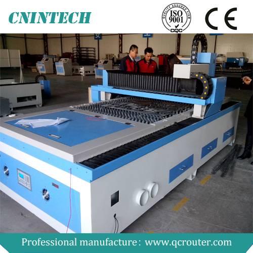 2014 Jinan Qichen CNINTECH QC-2040 500W 1000W 2000W fiber laser metal cutting machine