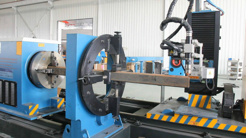 cnc plasma steel tube cutting machine with affordable price