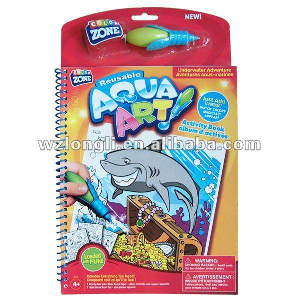 water painting book