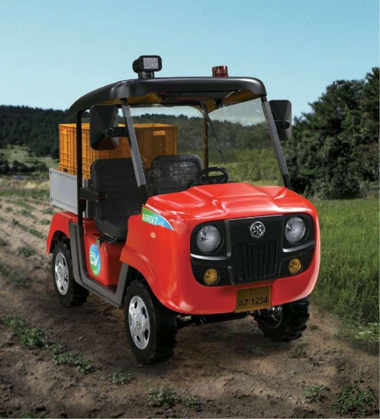 Eco-friendly Mini Electric Vehicle truck E-Cart