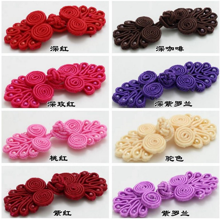 Chinese frog buttons for garments