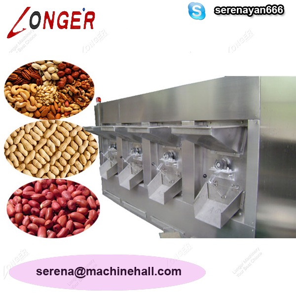 Industrial Nuts Roasting Machine|Commercial Peanut Roaster Machine