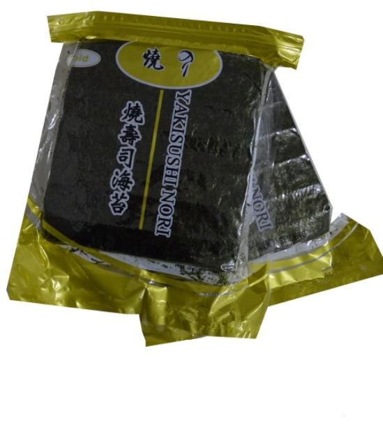 100 sheets roasted nantong nori seaweed