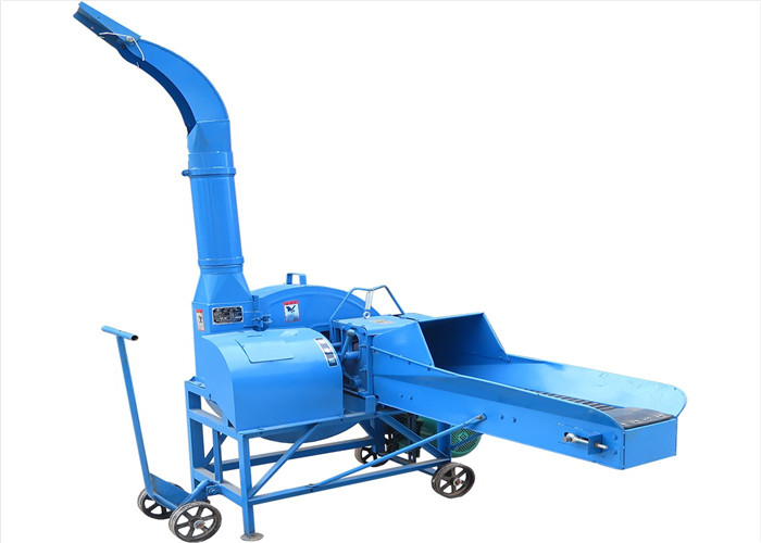 Poultry farm animal feed grass wheat forage chopper machine, chaff cutter machine
