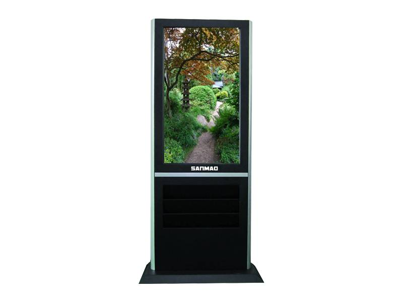 """42"""" Floor HD Advertising Machine Commercial LCD Advertising Display for Shopping Mall"""