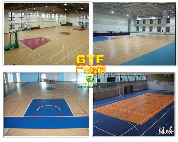 PVC Sports Flooring for Indoor Basketball