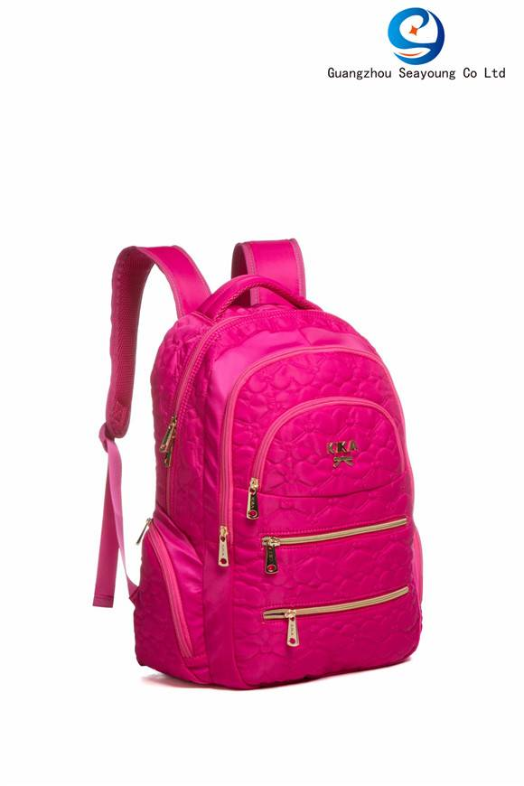 China Factory Korean Style School Bags School Backpack