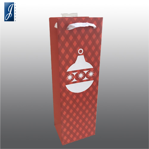 Customized wine packaging paper bag for B