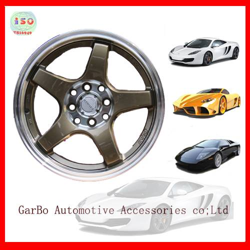 small car alloy wheel rims15inch 8holes 8x100/114.3