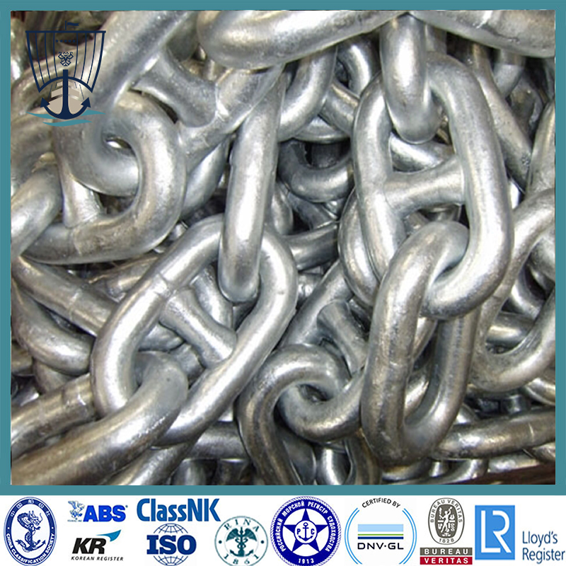 Galvanized Stud Link Chain Cable
