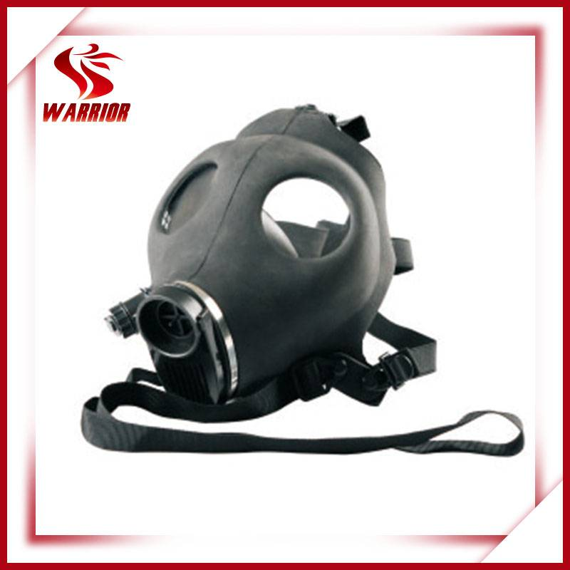 Military radioactive personal protective gas mask