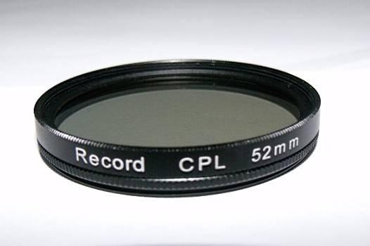 52mm circular polarizing filter camera CPL filter