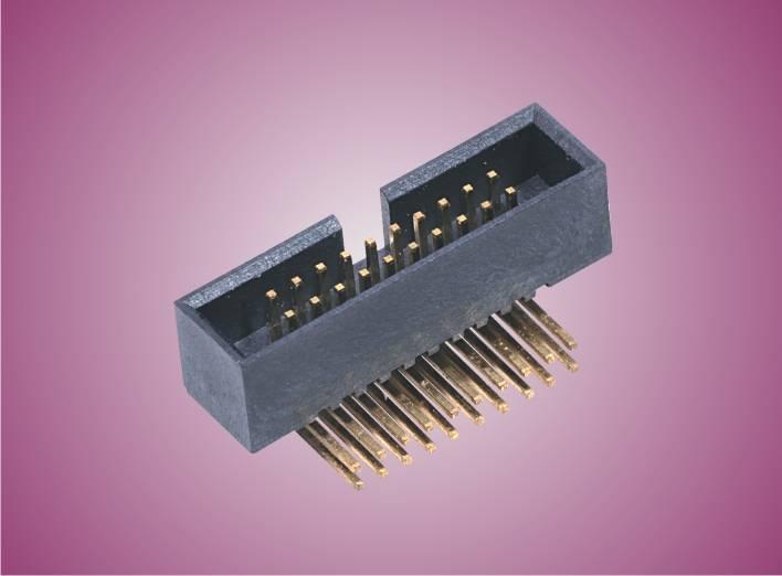 1.27 mm Pitch Box Header Connectors