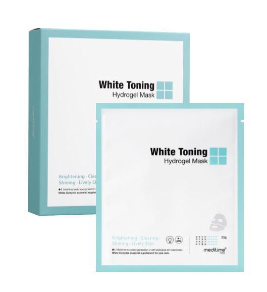 meditime White toning hydrogel mask