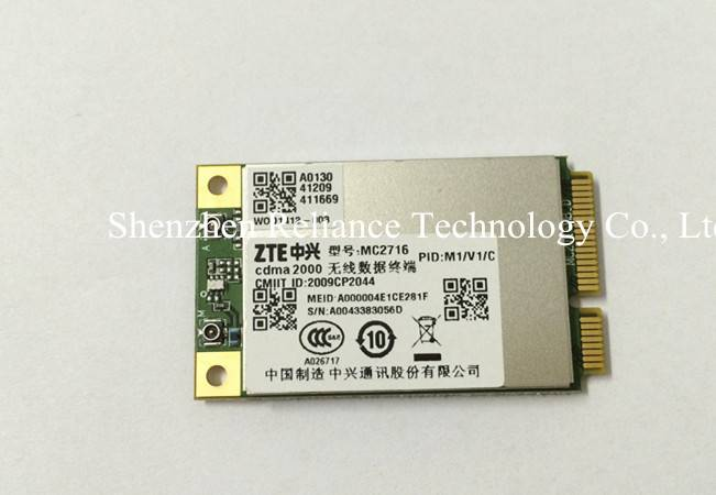 Qriginal package ZTE mini PCI-E CDMA2000 1x/EVDO Module MC2716