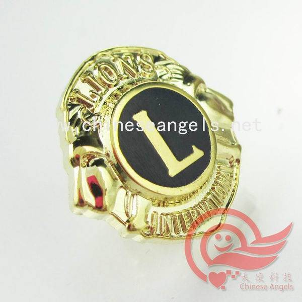 enamel badge,enamel emblems for Lion Club