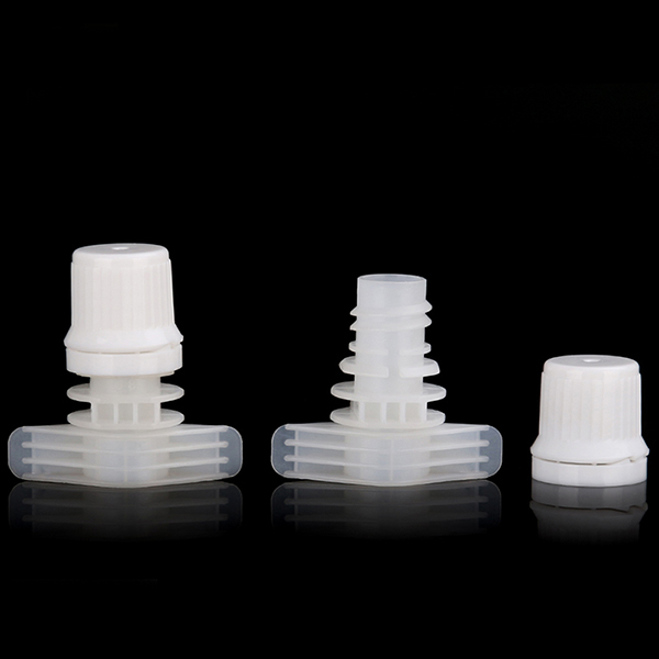 Hot sale leakage proof 9.6mm spouts and caps with pilfer proof for liquid