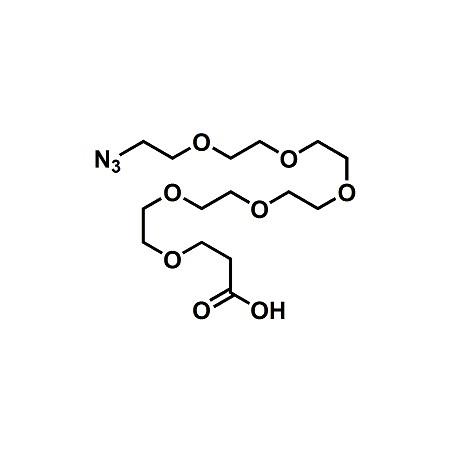 Azido-PEG6-propionic acid; N3-PEG6-CH2CH2COOH; CAS#361189-66-4
