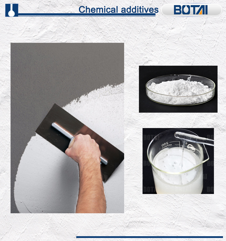 Hydroxy Propyl Methyl Cellulose HPMC used for Wall Putty