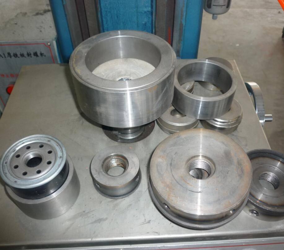 dia. 50-130 mm oil filter sealing machine