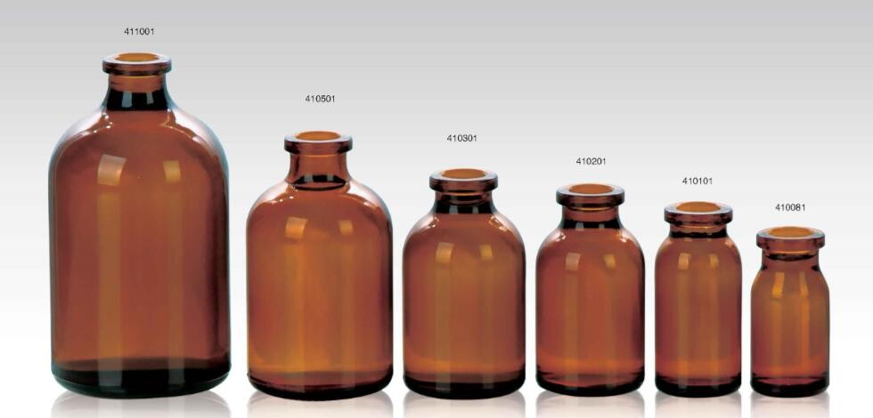 Pharmaceutical amber Glass Bottle for Syrup DIN PP28mm
