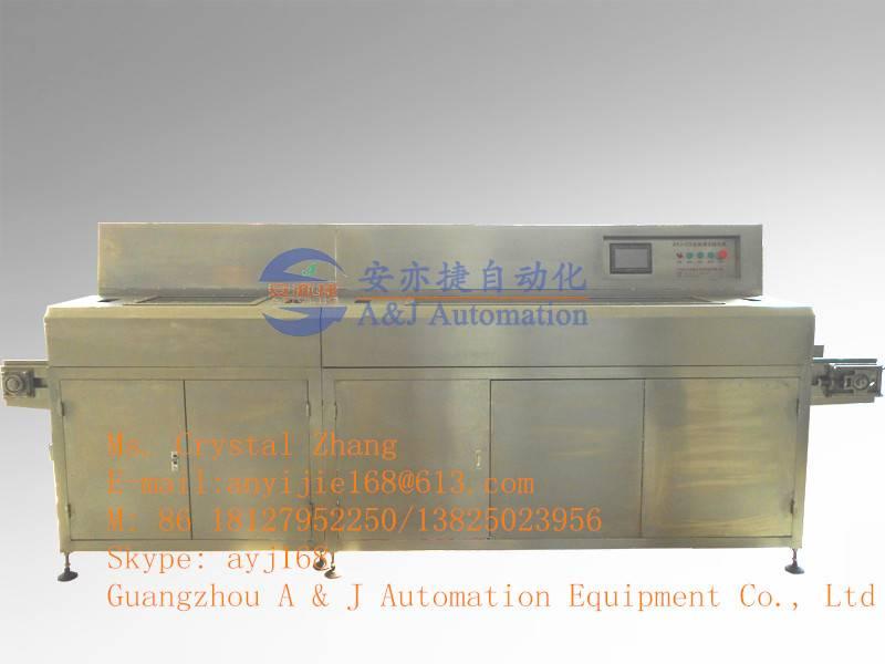 AYJ-QX Automatic tube cleaning & siliconizing machine