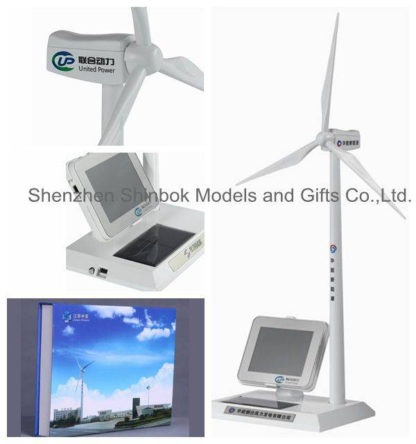 Diecast Solar Windmill with Media Player